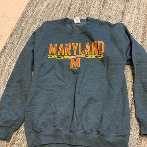 Sweaters - Maryland crew neck sweatshirt